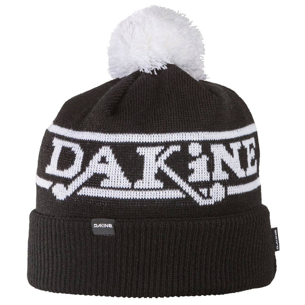 Dakine Da Team Beanie - Black Pom Beanie Hat by Dakine Black
