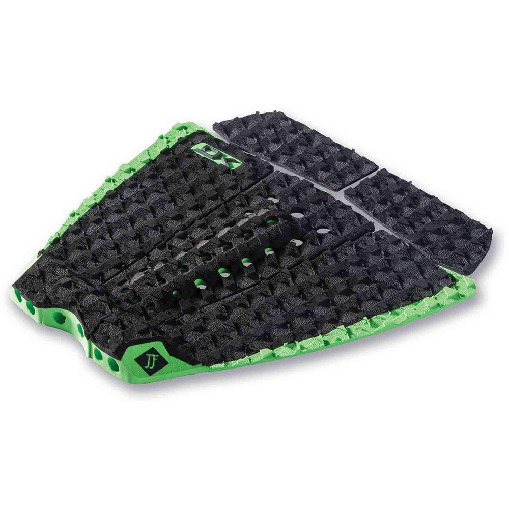 Dakine John John Florence Pro Surfboard Tail Pad in Black/Green 5+ Piece Tail Pad by Dakine