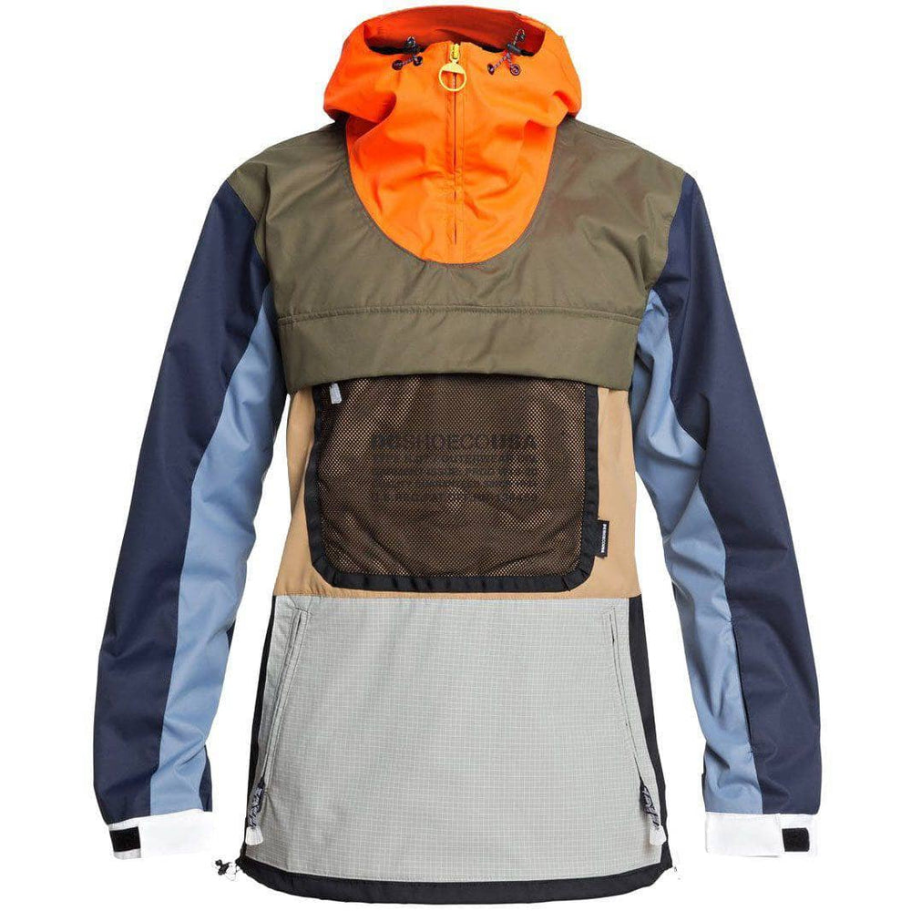DC ASAP Anorak SE Repurpose B Solid Mens Snowboard/Ski Jacket by DC