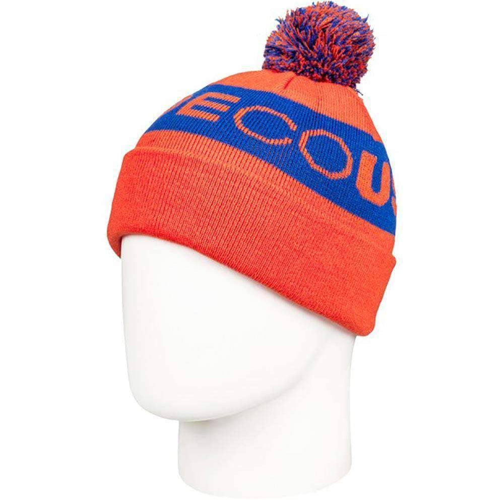 DC Boys Chester Youth 2 Kids Beanie Red Orange N/A Kids Beanie Hat by DC