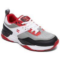 DC Boys Skate Shoes DC Boys E.Tribeka SE Shoes - White Grey Red