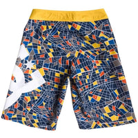 DC Boys Lanai Boardshort in Multi Boys Boardshorts by DC