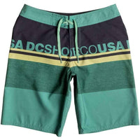DC Boys Layle 17 Boardshort Malachite Green Boys Boardshorts by DC