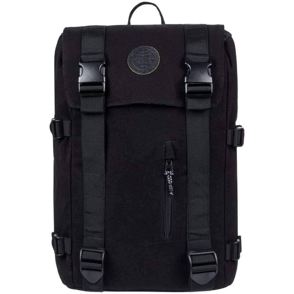 DC Crestline Backpack in Black Backpack/Rucksack Bag by DC