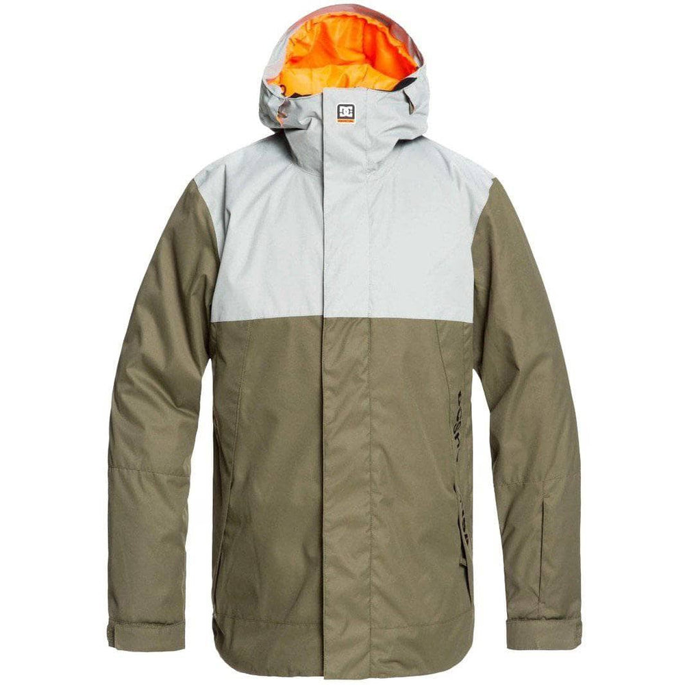DC Defy Snow Jacket SKP0 Neutral Grey Mens Snowboard/Ski Jacket by DC