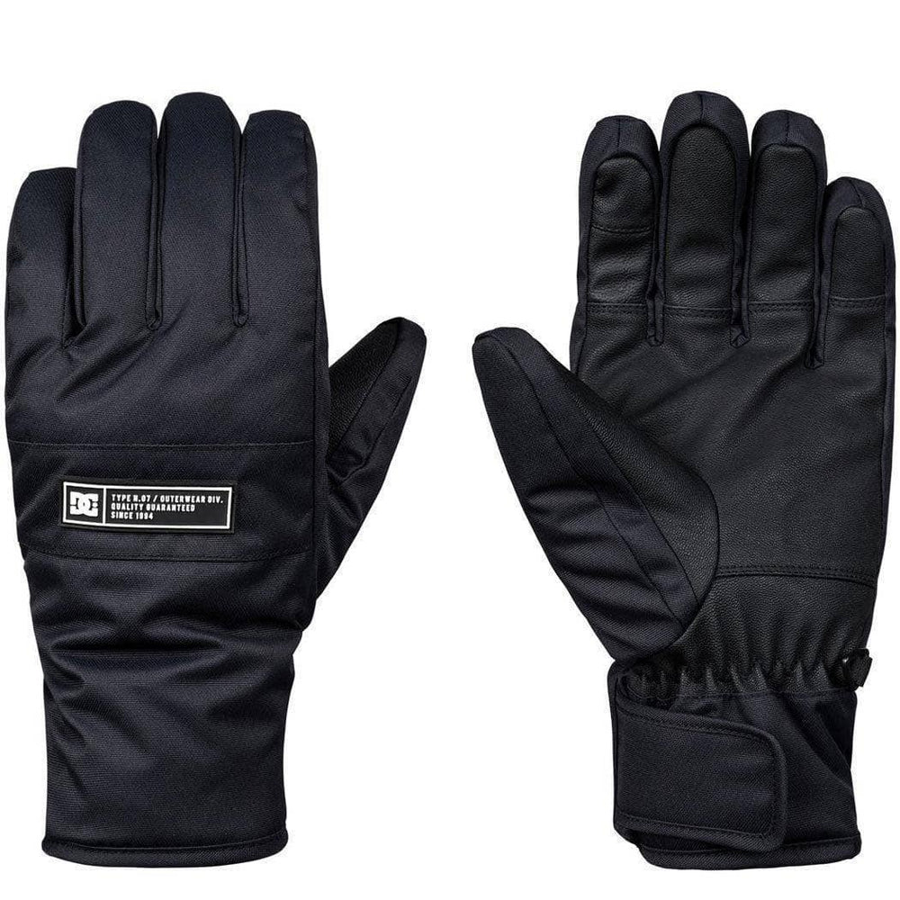 DC Franchise Snowboard / Ski Gloves - Black Snowboard/Ski Gloves by DC