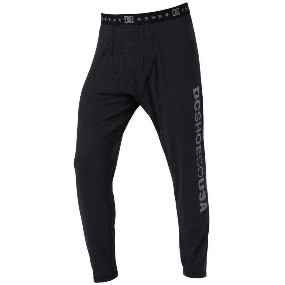 DC Mens Dingy Bottom Thermal Pant in Caviar Thermal Snowboard/Ski Bottoms by DC
