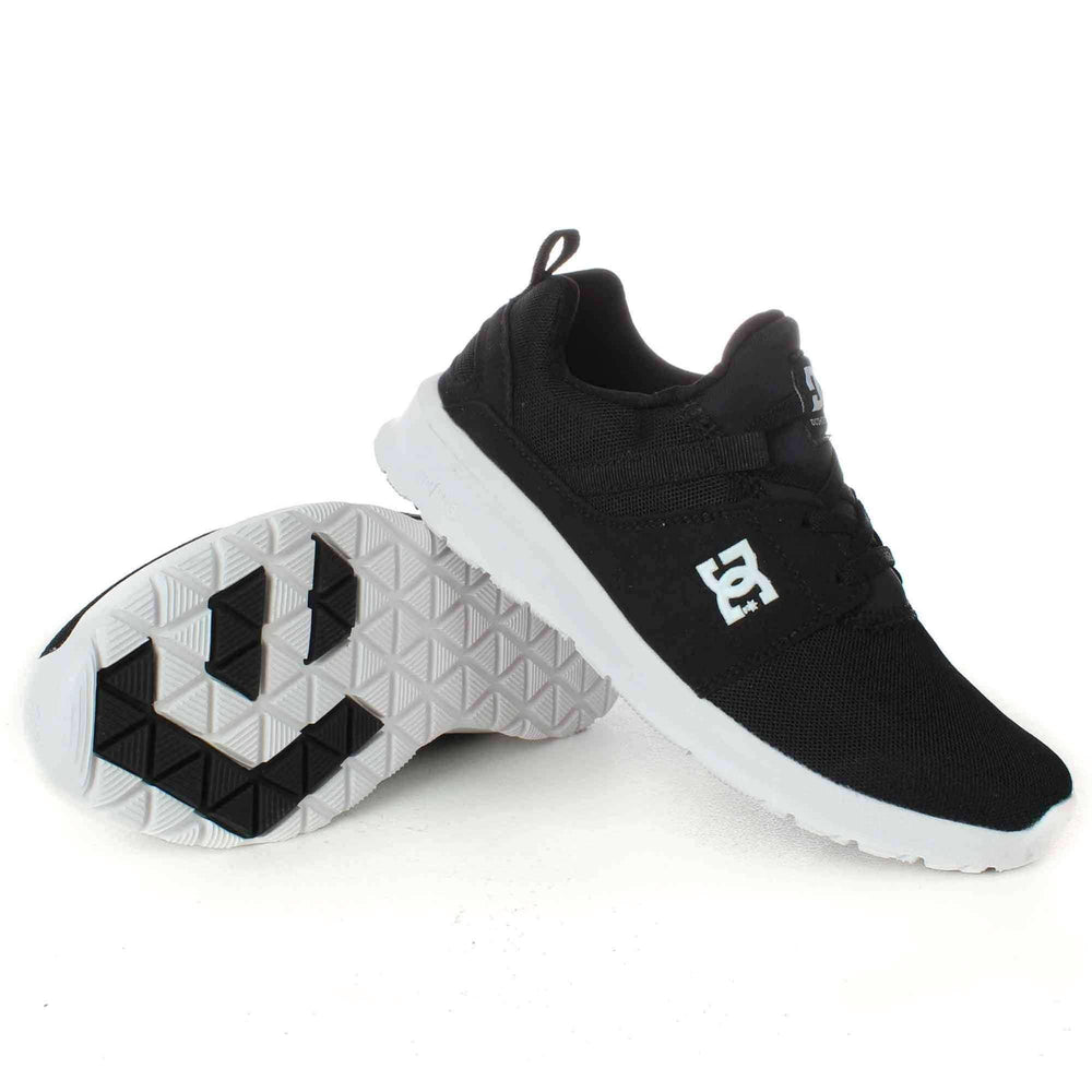 DC Mens Heathrow Shoes in Black/White (BKW) Mens Running Shoes/Trainers by DC