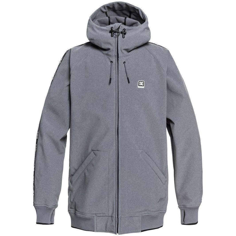 DC Spectrum Snow Jacket - Natural Grey Heather Mens Snowboard/Ski Jacket by DC