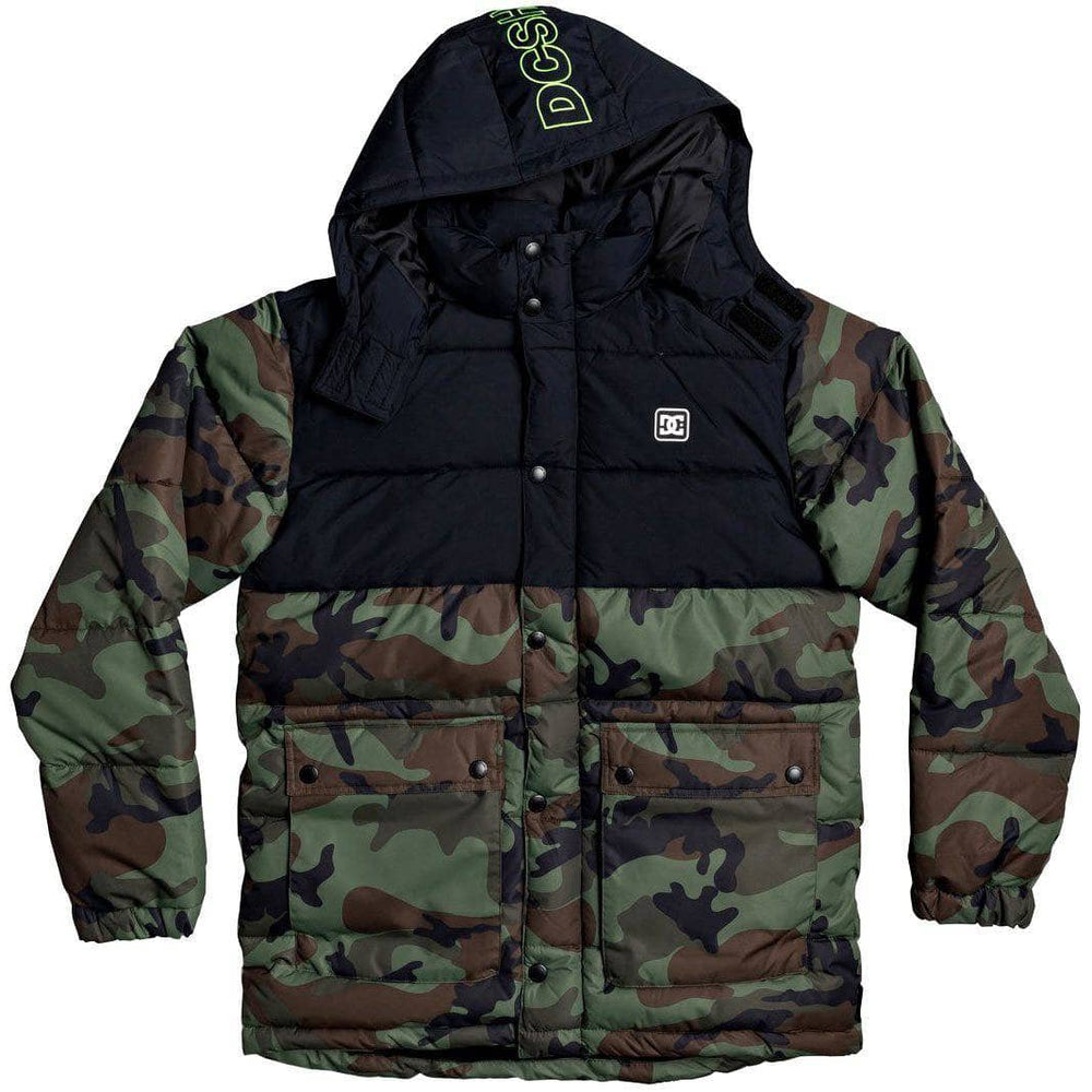 DC Straffen Jacket Camo Mens Insulated Jacket by DC