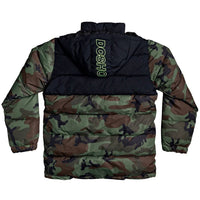 DC Mens Insulated Jacket DC Straffen Jacket Camo