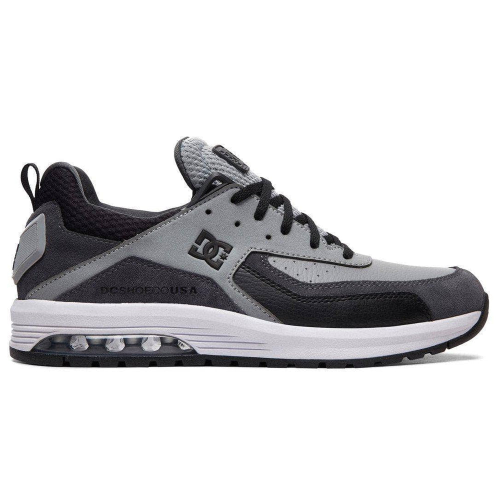 DC Vandium SE Shoes - Grey Grey Black Mens Running Shoes/Trainers by DC
