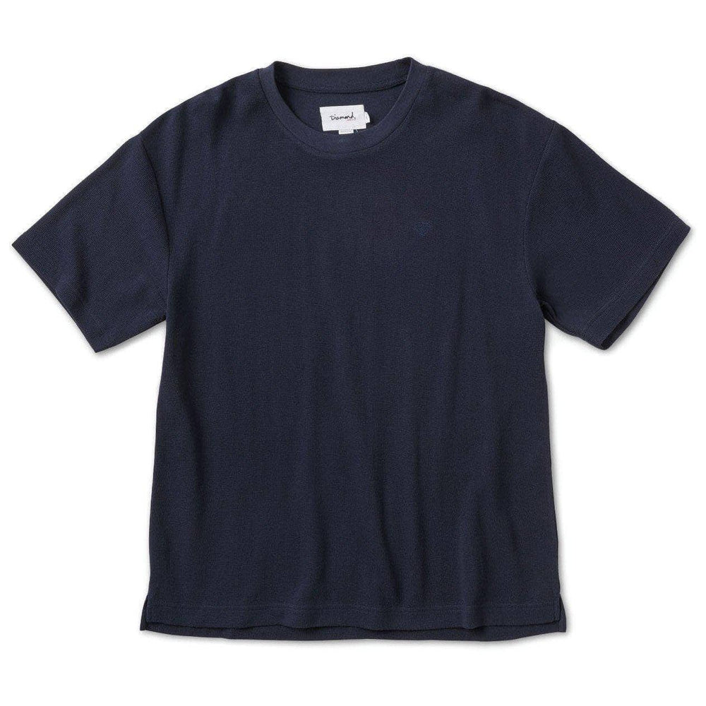 Diamond Supply Co. Brilliant Over Sized T-Shirt - Navy Mens Skate Brand T-Shirt by Diamond Supply Co.