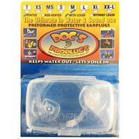 Docs Proplugs Surf/Swim Earplugs With Leash Clear M (medium) Surfing Ear Plugs by Docs Proplugs