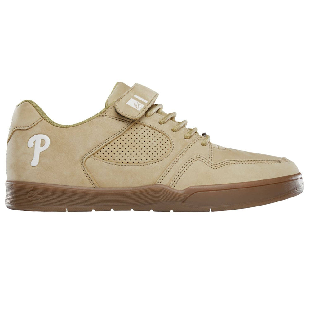 eS Accel Slim Plus Tom Asta Skate Shoes - Tan/Gum