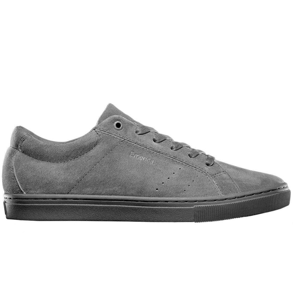 Emerica Americana / Leo VTG Skate Shoes - Grey/Grey Mens Skate Shoes by Emerica