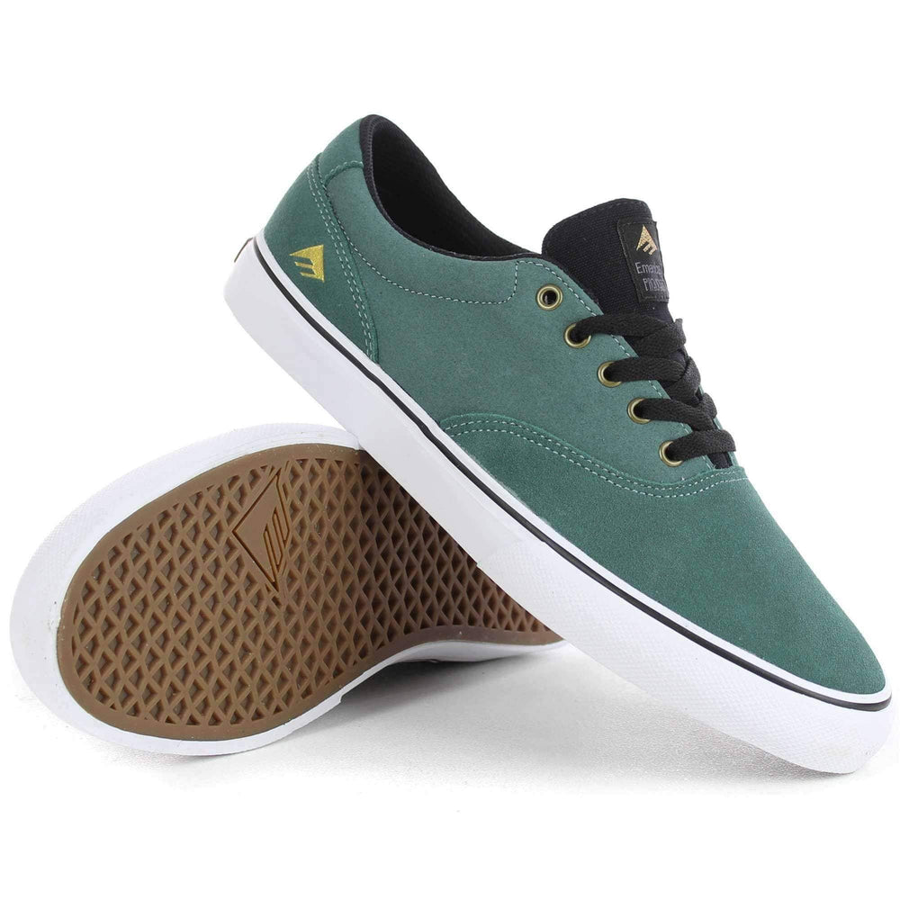 Emerica Provost Slim Vulc Shoes in Turquoise Mens Skate Shoes by Emerica