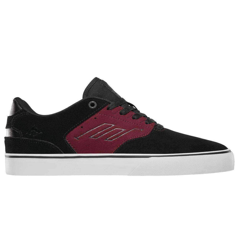 Emerica The Reynolds Low Vulc Shoes in Blackberry Blackberry Mens Skate Shoes by Emerica