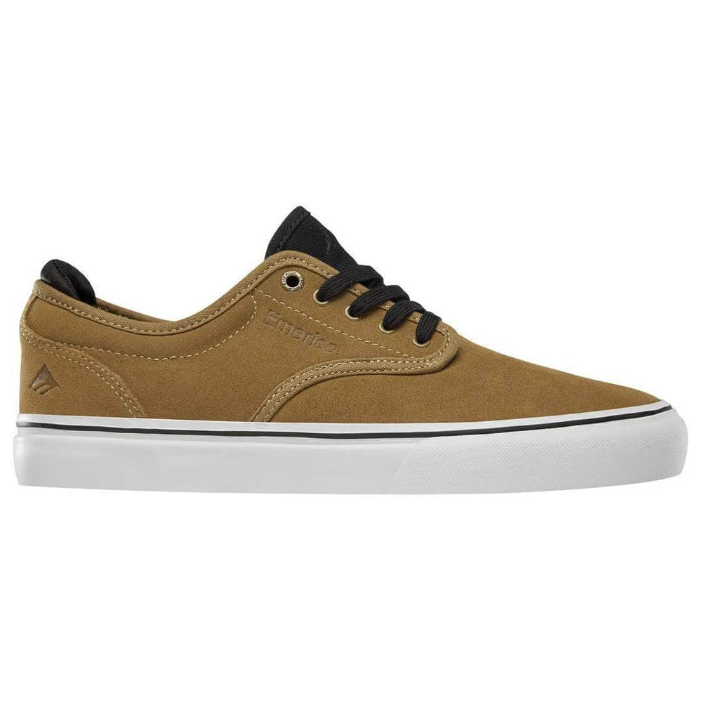 Emerica Wino G6 Shoes - Tan Black Mens Skate Shoes by Emerica