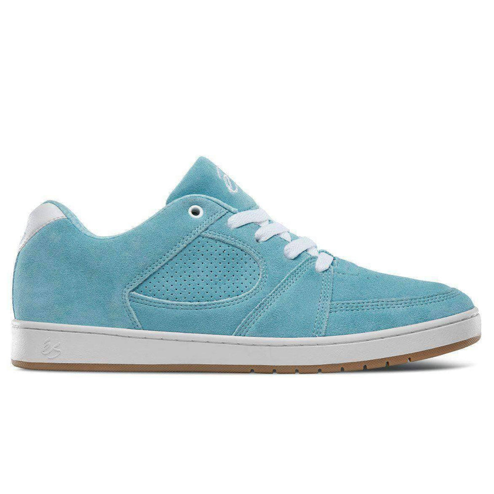 eS Accel Slim Skate Shoes - Light Blue Mens Skate Shoes by eS
