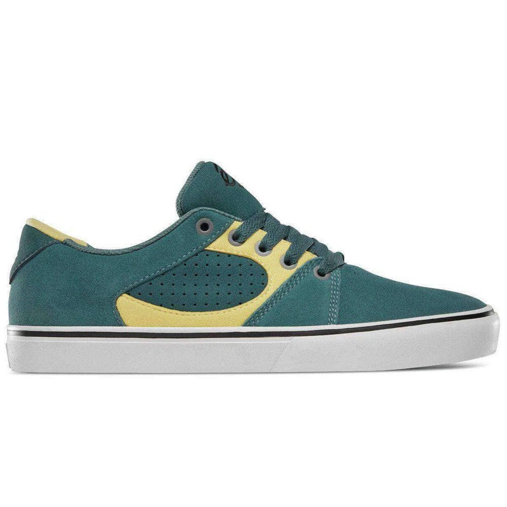 eS Square Three Skate Shoes - Green Gold Mens Skate Shoes by eS
