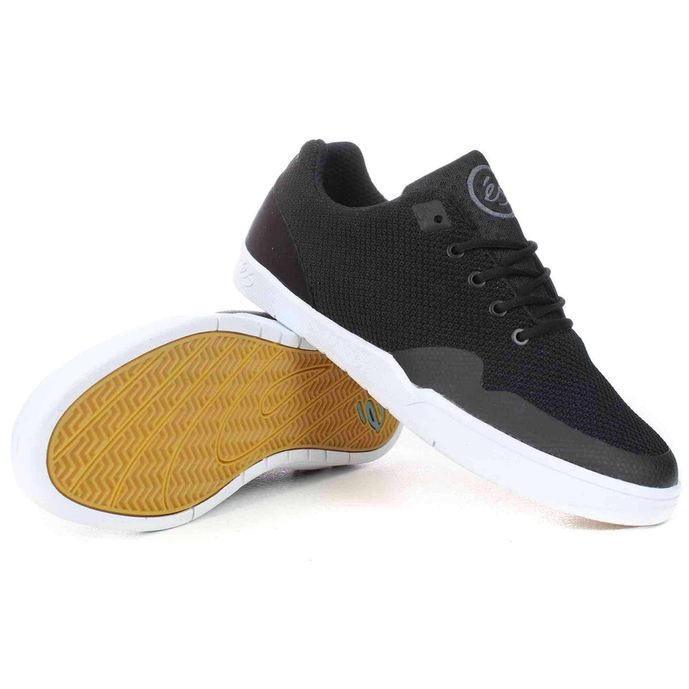 eS Swift Ever Stitch Shoes in Black Mens Skate Shoes by eS
