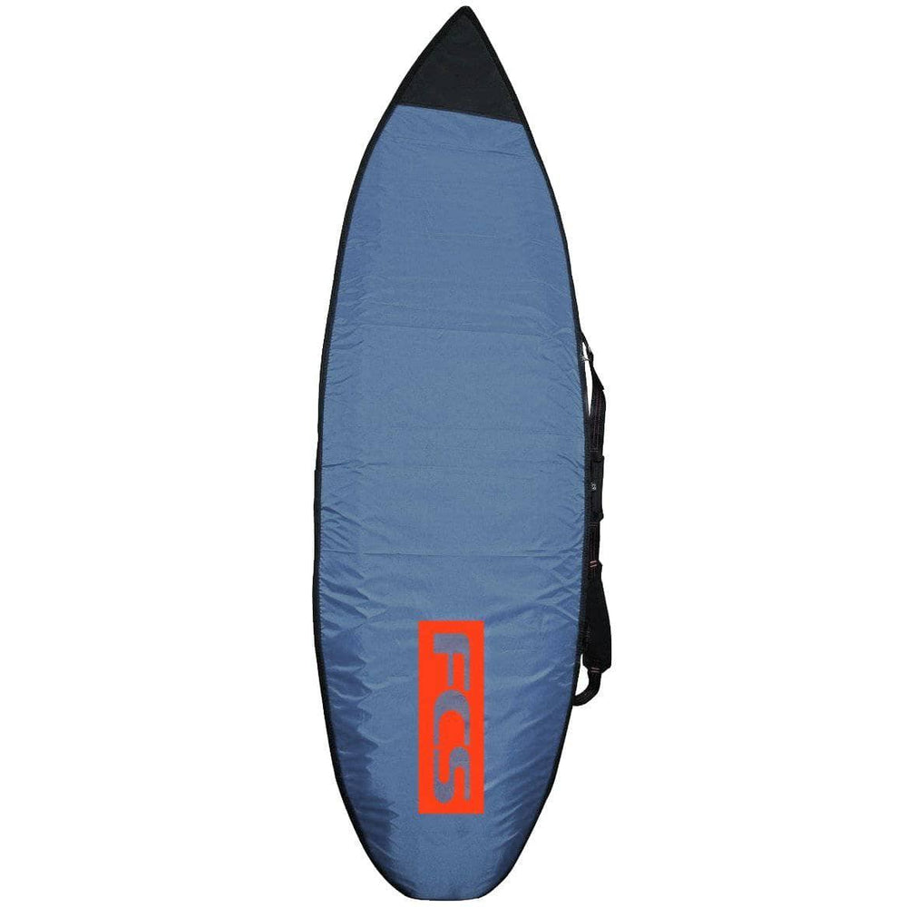 FCS 67 Classic All Purpose Surfboard Cover Bag - Steel Blue/White Surfboard Day Runner Bag/Cover by FCS 6ft 7in