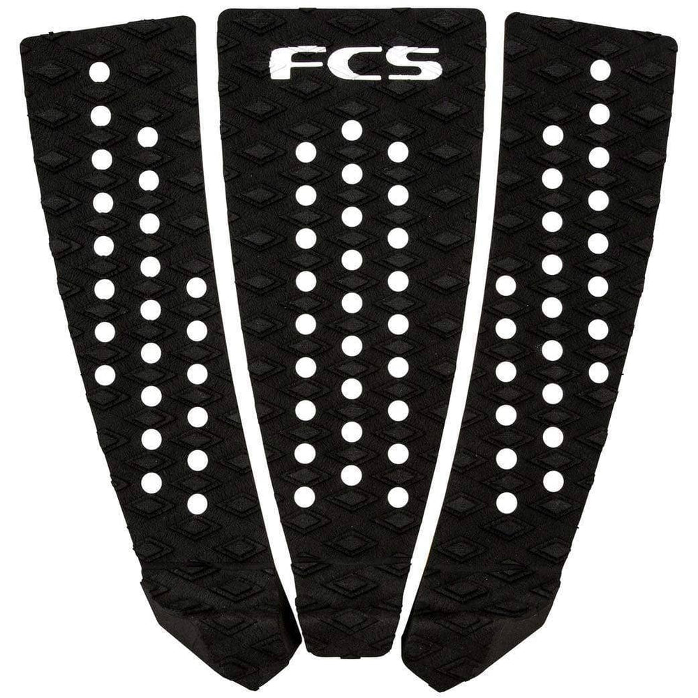 FCS C3 Classic Surfboard Tail Pad Black O/S (one size) 3 Piece Tail Pad by FCS