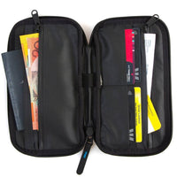 FCS FCS Travel Wallet - Black Travel/Wash Bag by FCS