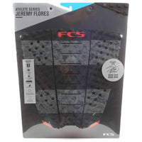 FCS 3 Piece Tail Pad FCS Flores Stealth Tail Pad Surfboard Grip