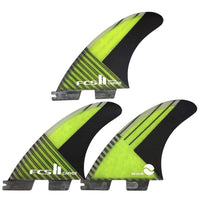 FCS II Carver PC Carbon Tri Surfboard Fins FCS II Fins by FCS