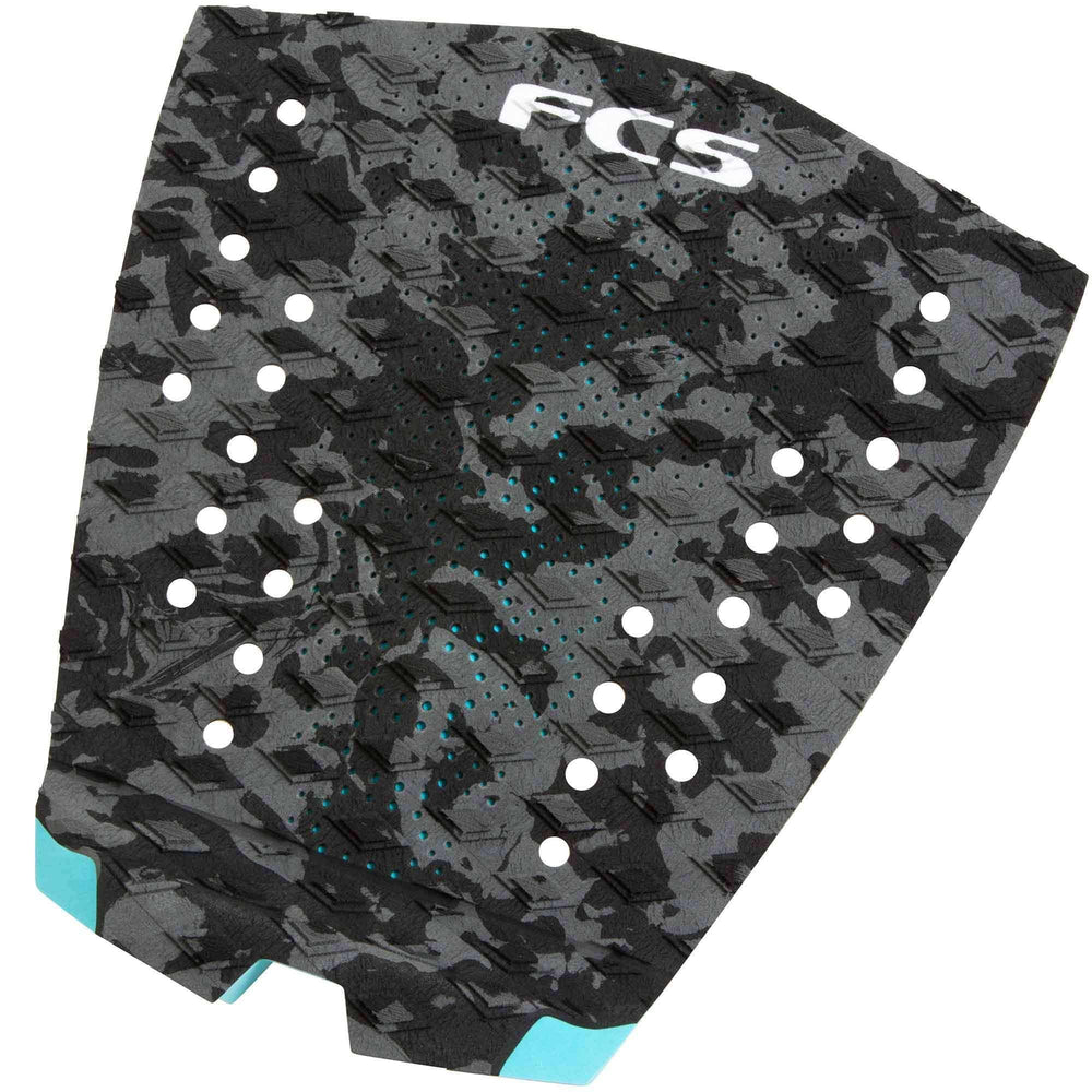 FCS T-1 Charcoal Camo Surfboard Tail Pad 1 Piece Tail Pad by FCS