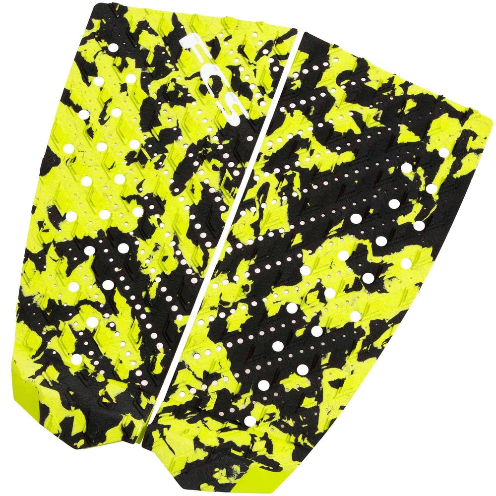 FCS T-2 Acid Camo Surfboard Tail Pad 2 Piece Tail Pad by FCS