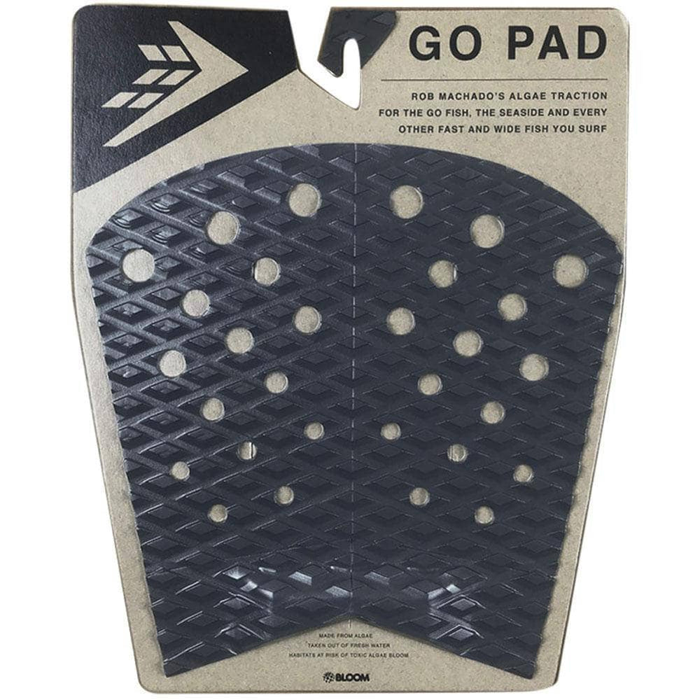 Firewire Machado Go Fish / Seaside Tail Pad Black/Charcoal O/S (one size) 4 Piece Tail Pad by Firewire