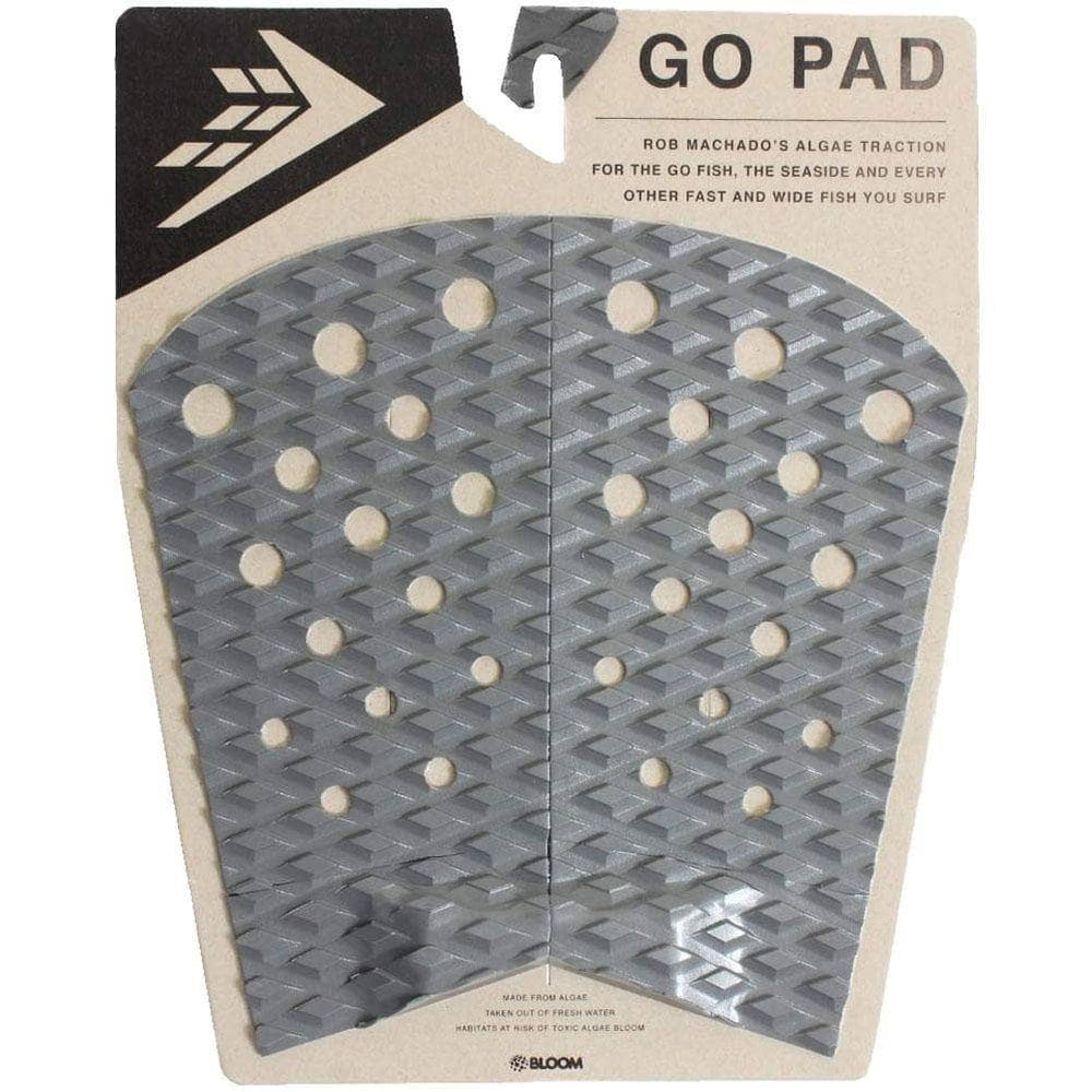 Firewire Machado Go Fish / Seaside Tail Pad Charcoal/Black O/S (one size) 4 Piece Tail Pad by Firewire