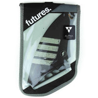 Futures Controller Quad Alpha Surfboard Fins in Black Futures Single Tab Fins by Futures Specialised Fins