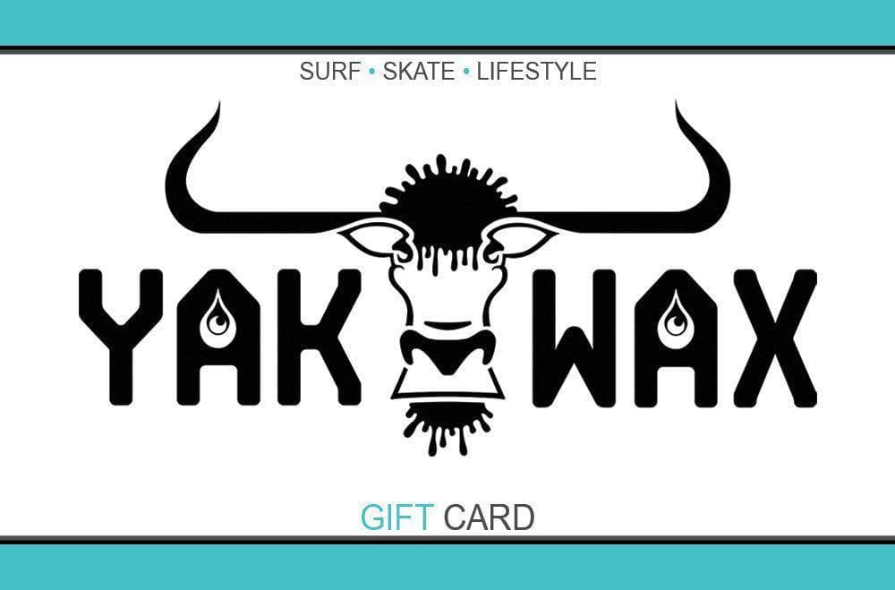 Gift Card Gift Card by Yakwax