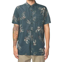 Globe Appleyard Howler S/S Shirt - Midnight Mens Casual Shirt by Globe
