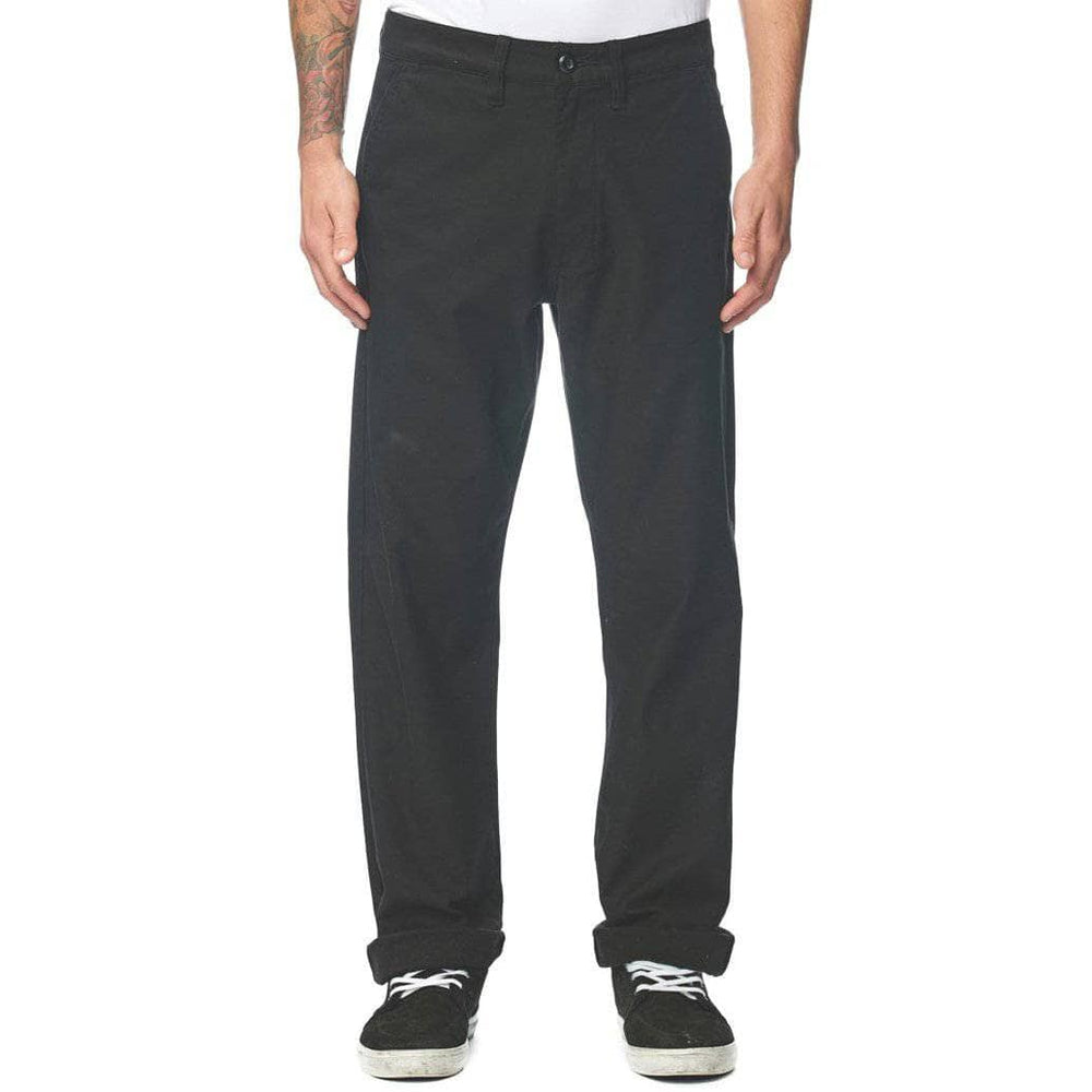 Globe Mens Chino Pants/Trousers Globe Appleyard Rage Pants - Black