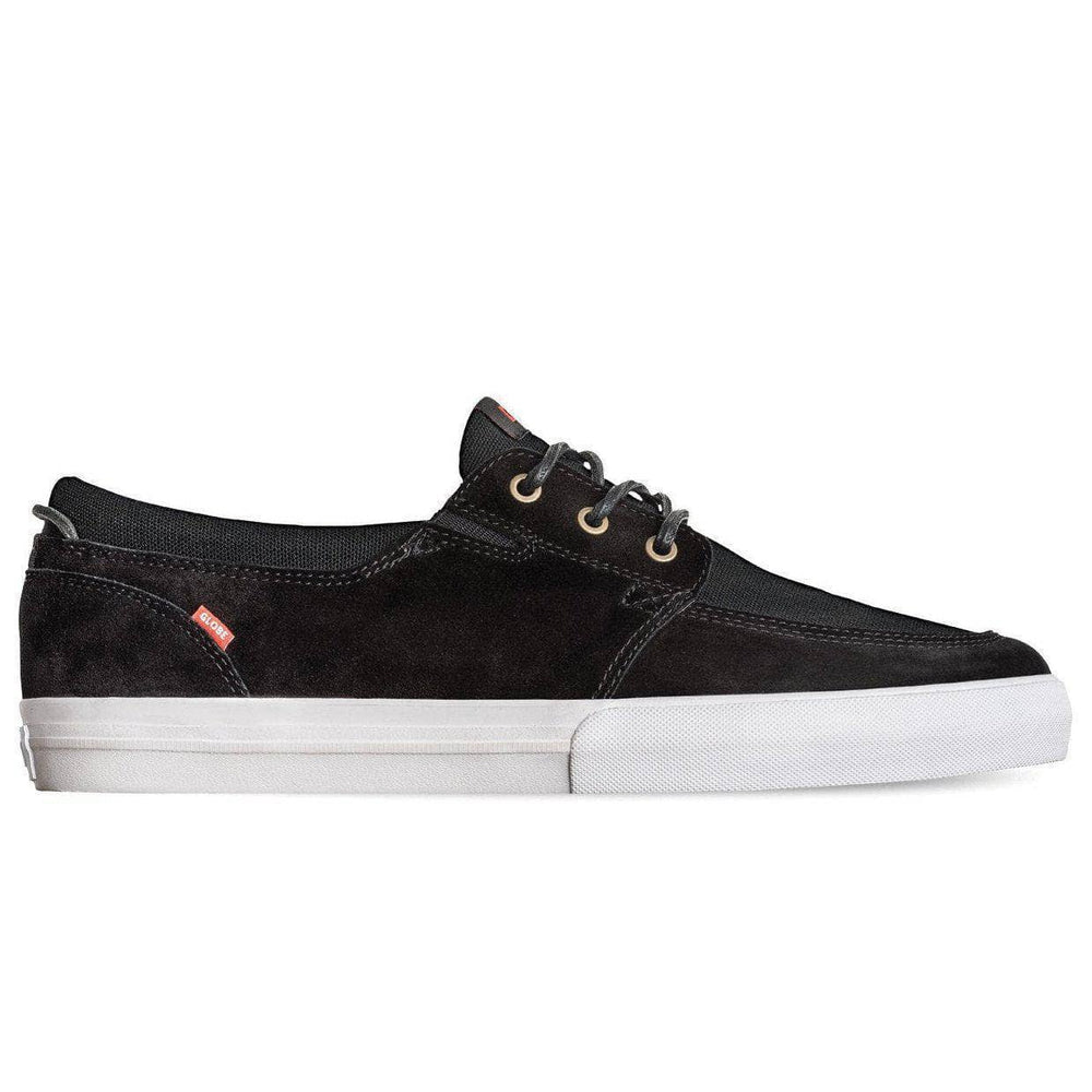 Globe Attic Skate Shoes - Black White Mens Casual Shoes by Globe