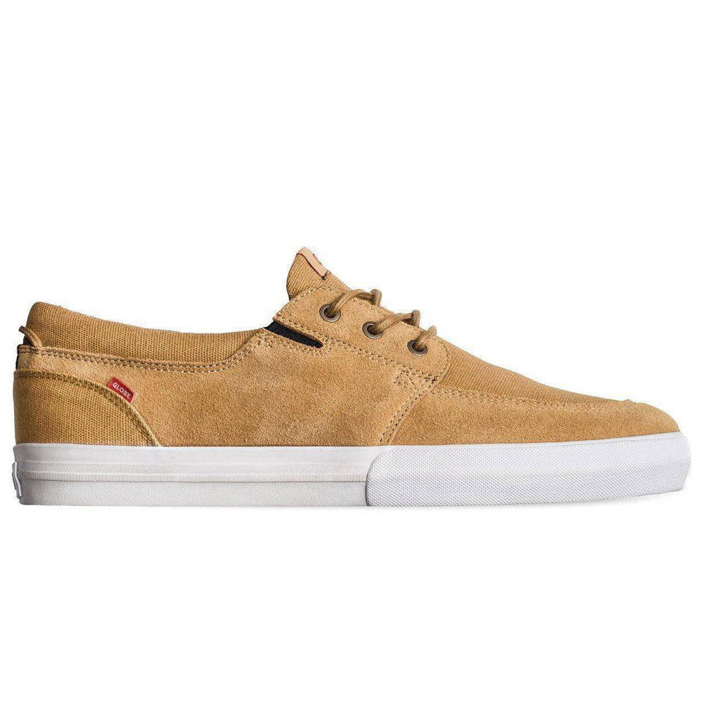 Globe Attic Skate Shoes - Tan White Mens Casual Shoes by Globe