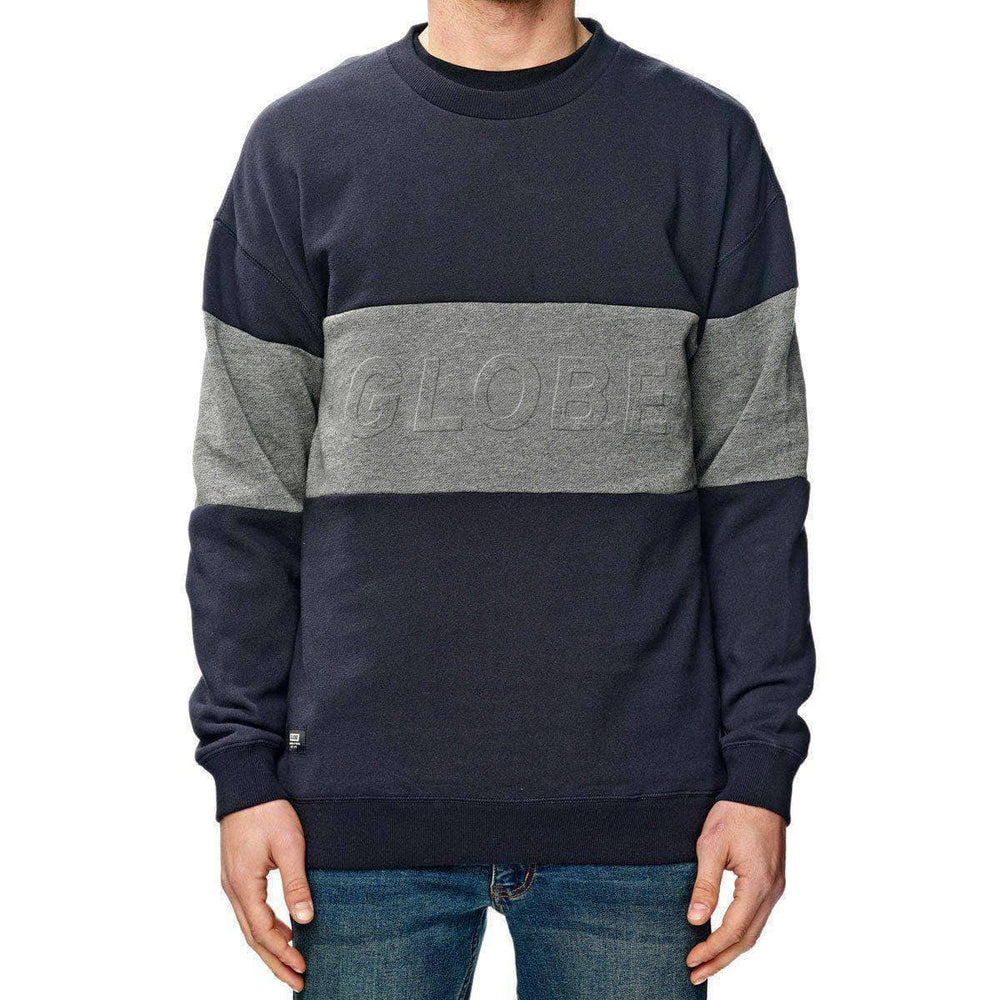 Globe Boys Crew Neck Sweatshirt Globe Boys Boston Crew - Granite
