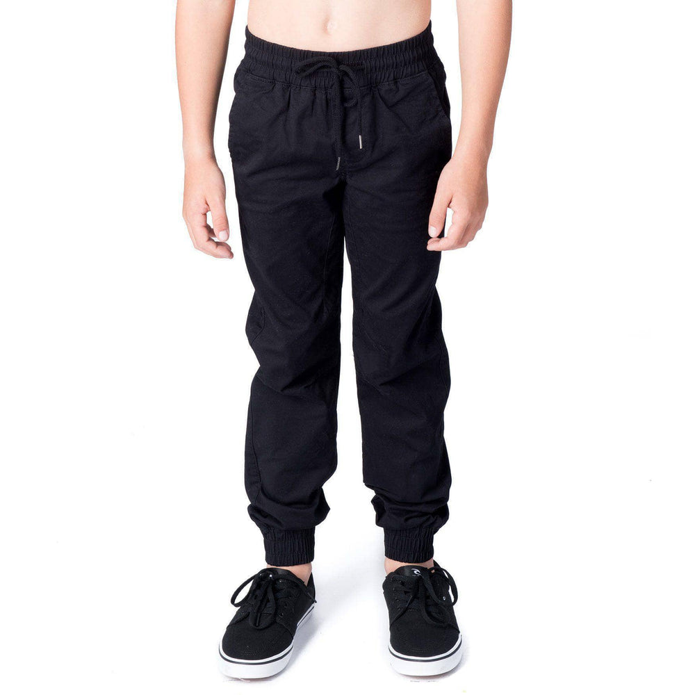 Globe Boys Goodstock Joggers - Black Boys Joggers by Globe