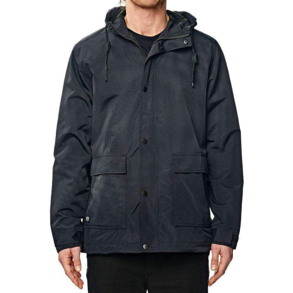 Globe Boys GS Utility Thermal Jacket - Black Boys Insulated Jacket by Globe