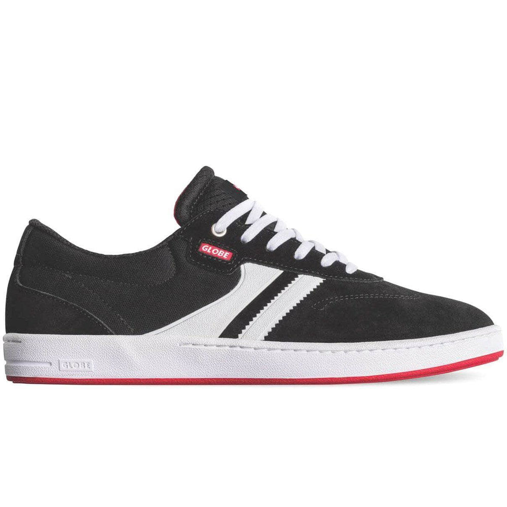 Globe Mens Skate Shoes Globe Empire Skate Shoes - Black/White/Milou