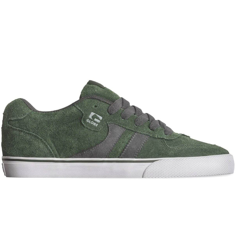 Globe Encore 2 Skate Shoes - Hunter Green/Grey Mens Skate Shoes by Globe