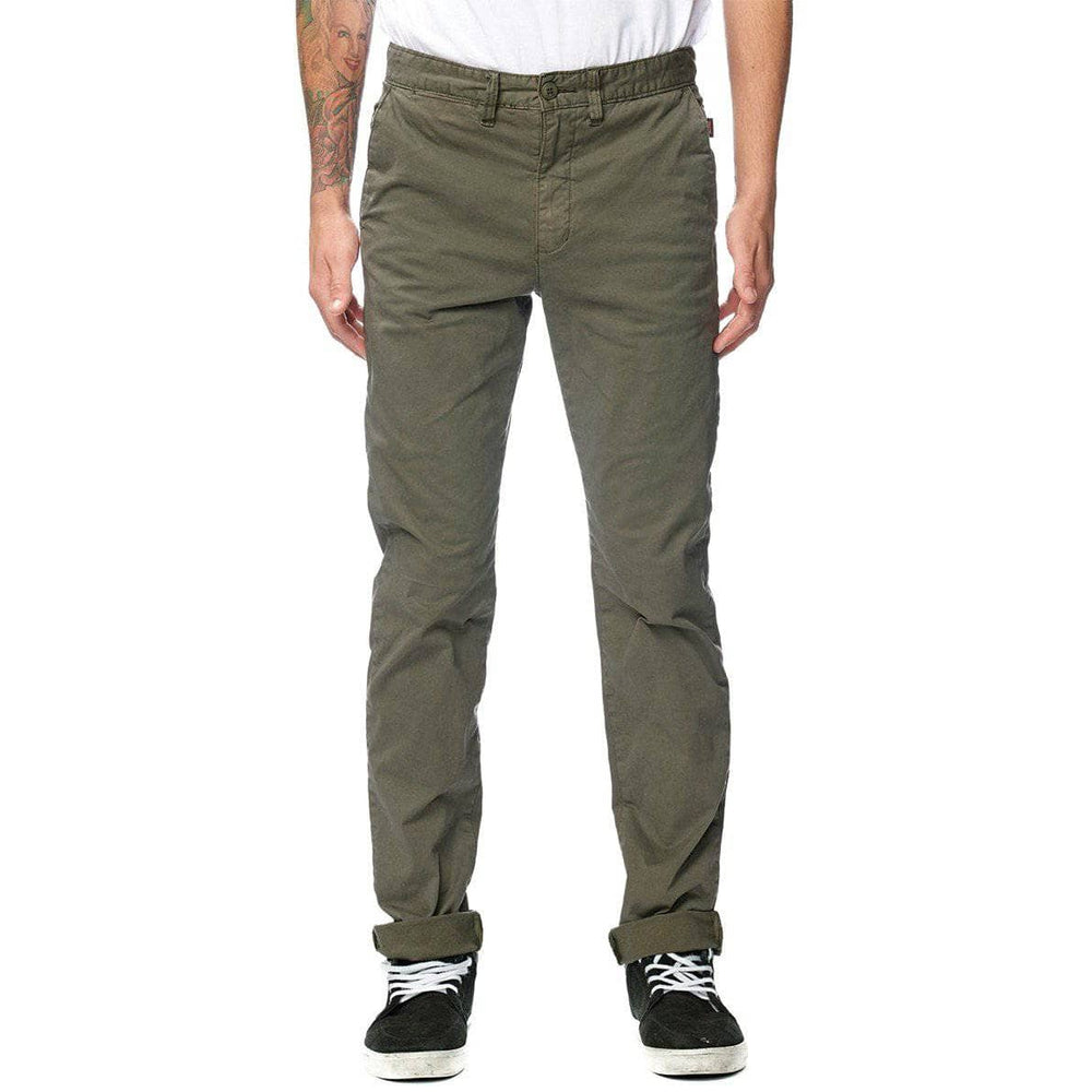 Globe Goodstock Chino Pants - Army Mens Chino Pants/Trousers by Globe