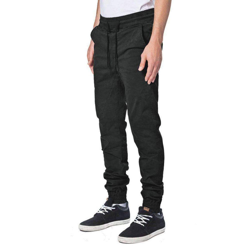 Globe Goodstock Joggers - Black Mens Joggers by Globe