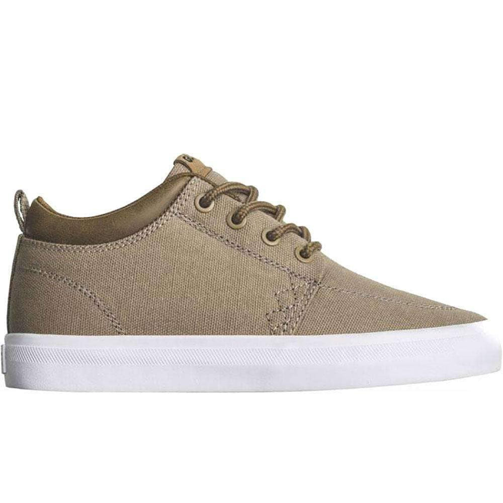 Globe Boys Skate Shoes Globe GS Chukka Kids Shoes - Woodsmoke Brown