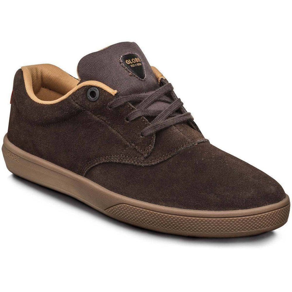 Globe The Eagle SG Skate Shoes - Chestnut Gum Mustard Mens Skate Shoes by Globe